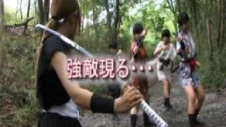 自社制作ドラマシリーズ第1弾、時代劇DVD「JID Vol.1 忍風くノ一伝説 吹...