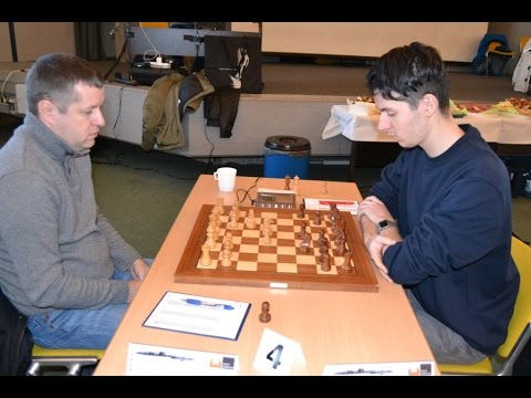 GM Bobras vs GM Huschenbeth German Bundesliga 2016 | Grandma