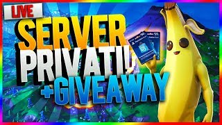 🔴If you make a real win in Private Servers, win psn gift cards! Open to all!- Fortnite