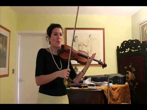 Alda Dizdari's tip for practicing the violin using Lateral Thinking in Bow Technique
