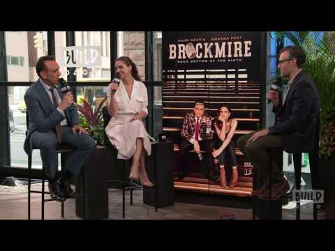 "Amanda Peet And Hank Azaria Discusses Their New IFC Series ""Brockmire"" 