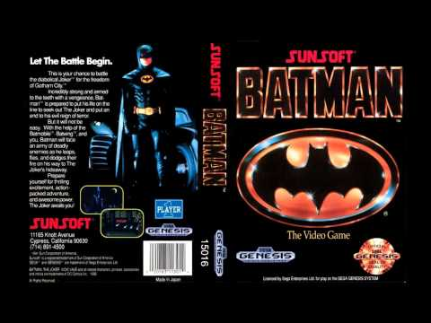 [SEGA Genesis Music] Batman (Sunsoft) - Full Original Soundtrack OST