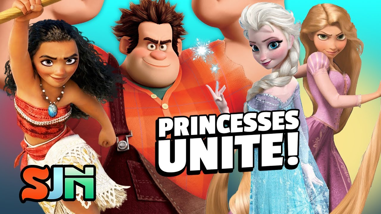 Is Wreck It Ralph 2 Forming the Disney Princess Avengers D23