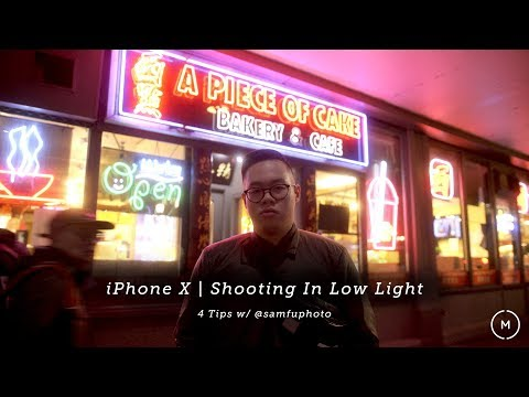 iPhone X | How to Shoot Portraits in Low Light - 4 Tips w/ Sam Fu