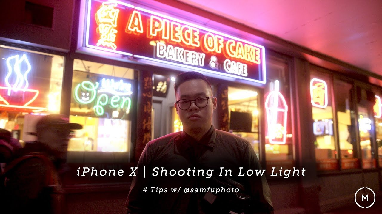 Iphone X How To Shoot Portraits In Low Light  Tips W Sam Fu