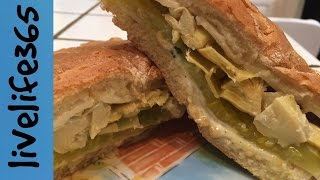 How To...make A Killer Artichoke, Pickle And Cheese Sandwich