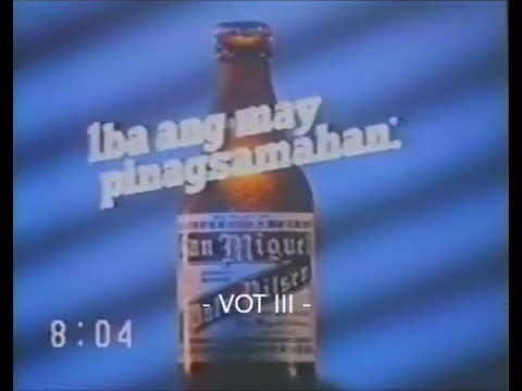 San Miguel Pale Pilsen TV Commercial (1987)