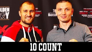 Sergey Kovalev and Vyacheslav Shabranskyy fight on HBO - 10 Count