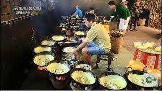 지글지글 바삭바삭! 베트남식 해물 부침개