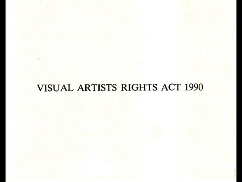 Visual Artists Rights Act of 1990
