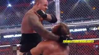 Triple H VS Undertaker Wrestlemania 28 Highlights [HD]