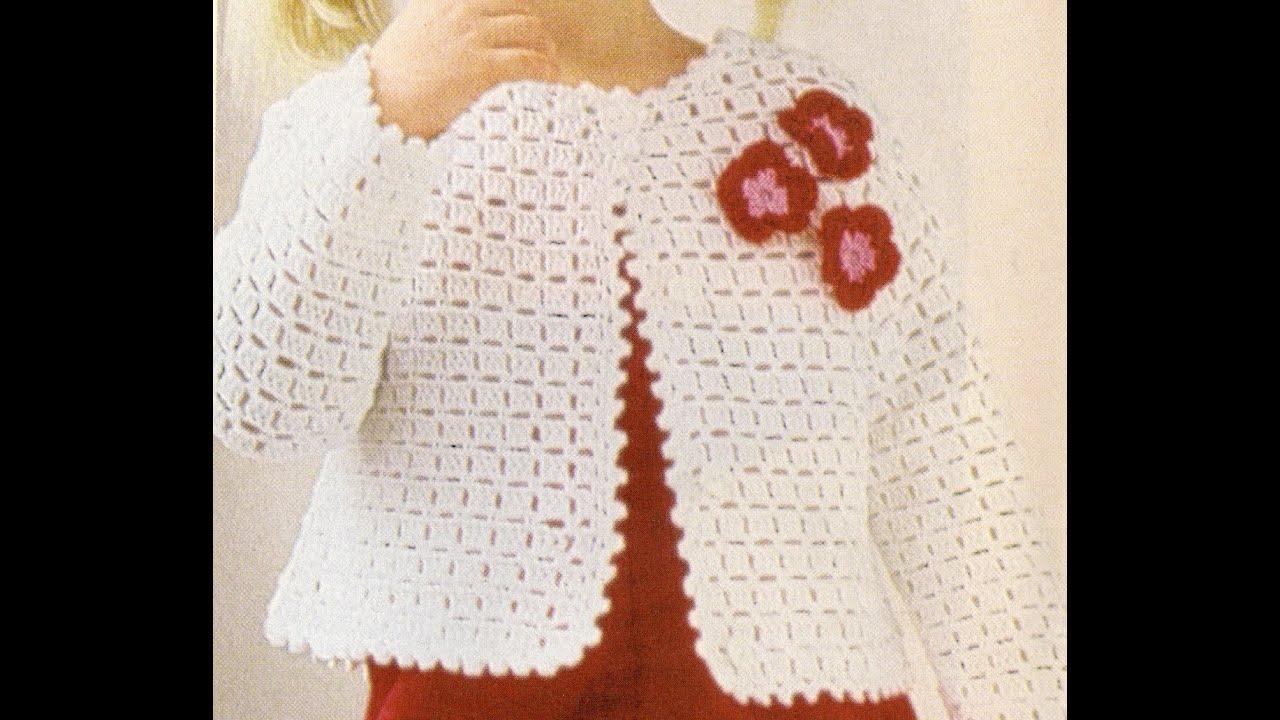 Para Puntada Suéter De Youtube Fantasía Crochet Niña A Zrqr5Wc