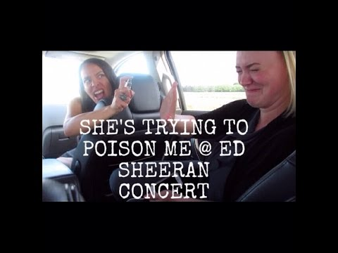 She's Trying To Poison Me @ Ed Sheeran Concert | June 14, 2015 Vlog