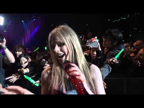 Avril Lavigne The Black Star Tour in Japan 2012.2.4 at Saitama Super Arena