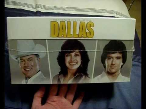 Dallas Complete Collection DVD Boxset (Seasons 1-14 + Movies) Unboxing