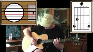 Morningtown Ride - The Seekers - Acoustic Guitar Lesson (easy)