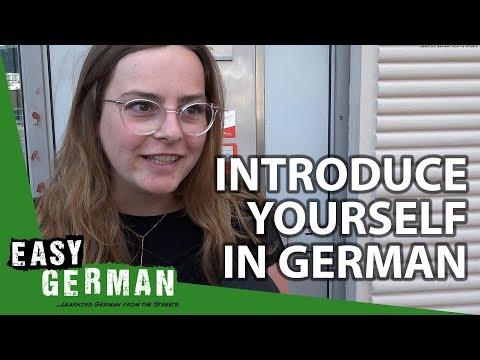Giáo trình Học Tiếng Đức A1- Bài 1: Giới thiệu