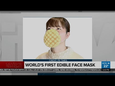 Worlds-first-edible-face-mask