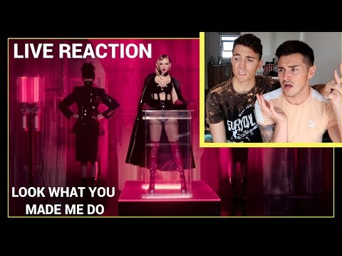 Download Youtube: Taylor Swift - Look What You Made Me Do (OFFICIAL VIDEO) REACTION