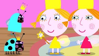 Ben and Holly's Little Kingdom   Queen Thistle Becomes a Ladybird!   1Hour   Kids Videos HD