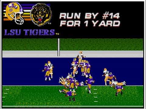 College Football USA '97 (video 165) (Sega Megadrive / Genesis)