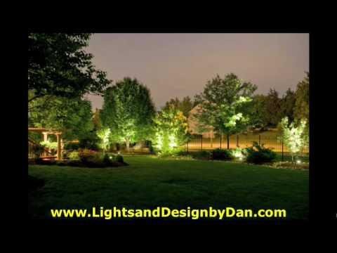 Kansas city landscape lighting lights design by dan youtube