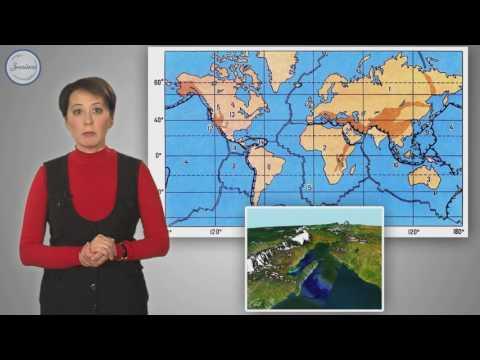Видеоурок литосферные плиты