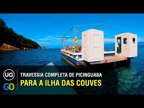 Travessia de Picinguaba para a Ilha das Couves - Percurso completo com dicas e informações