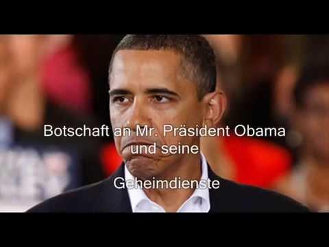 Botschaft an Präsident Obama