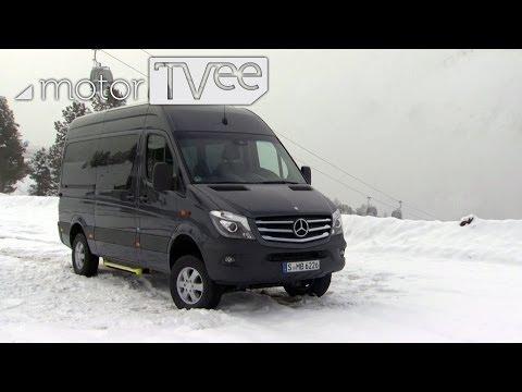 Mercedes Sprinter 4x4 - Sprinter for winter   motorTVee