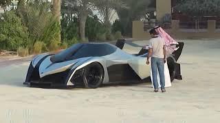 Devil sixteen world fastest car seen in dubai