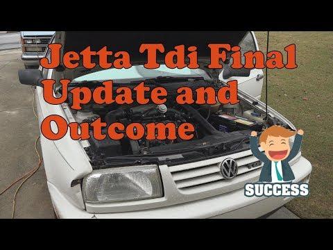 1998 VW Jetta Tdi A3 Final Update and Outcome