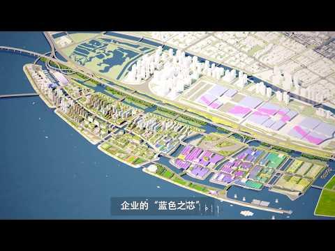 NEW MARINE CITY (SHENZHEN)- GUALLART ARCHITECTS- CCDI V.Guallart, H.Grzesikowska,