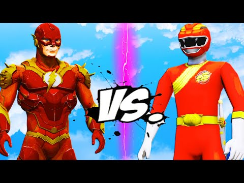 THE FLASH VS GAO RED - EPIC BATTLE