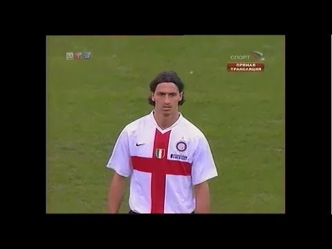 Zlatan Ibrahimovic | Roma 1-4 Inter | 2007-08 Serie A Round 6