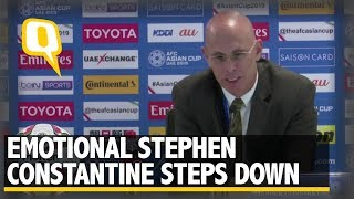 Emotional Stephen Constantine Steps Down as India Coach   The Quint