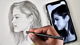 Hey guys, in this video we going to draw selena gomez step by using a mechanical pencil. don't forget like, share and comment. please subscribe st...