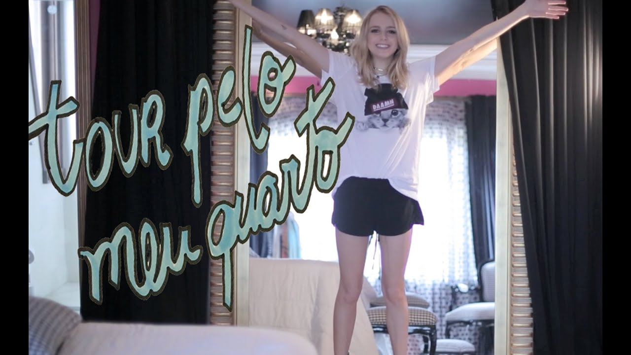 Tour Pelo Meu Quarto Toda Feminina ~ Tour Pelo Meu Quarto  Isa Scherer  YouTube