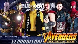 """Homero Simpson VS Avengers Infinity War"""