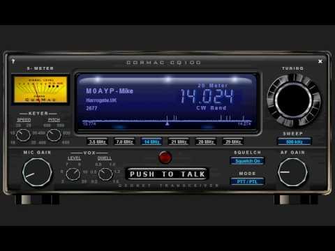 CQ100 VOIP Ham Radio Transceiver
