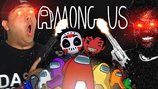 ME, H20 DELIRIOUS, CORYXKENSHIN, CARTOONZ.. WHOS THE KILLER? [AMONG US]