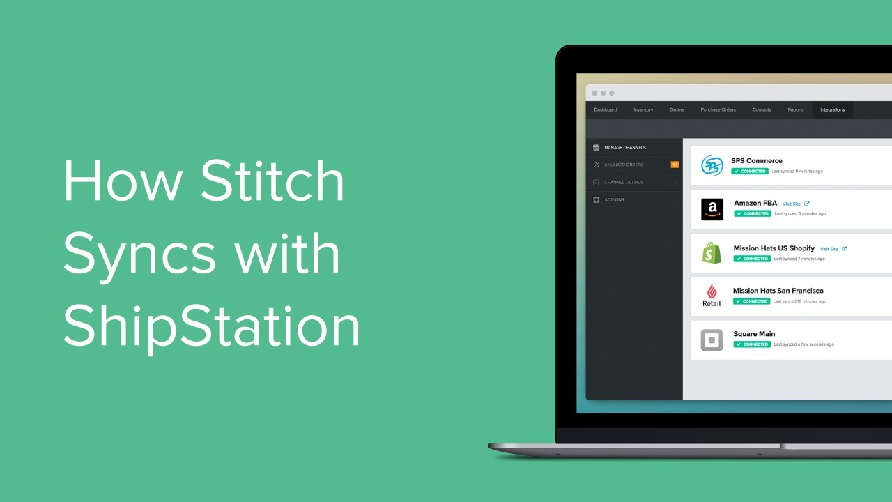ShipStation - Sales Order Fulfillment | Stitch Labs