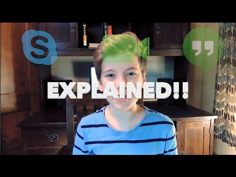 Skype Vs  Facetime Vs  Hangouts | Explained!