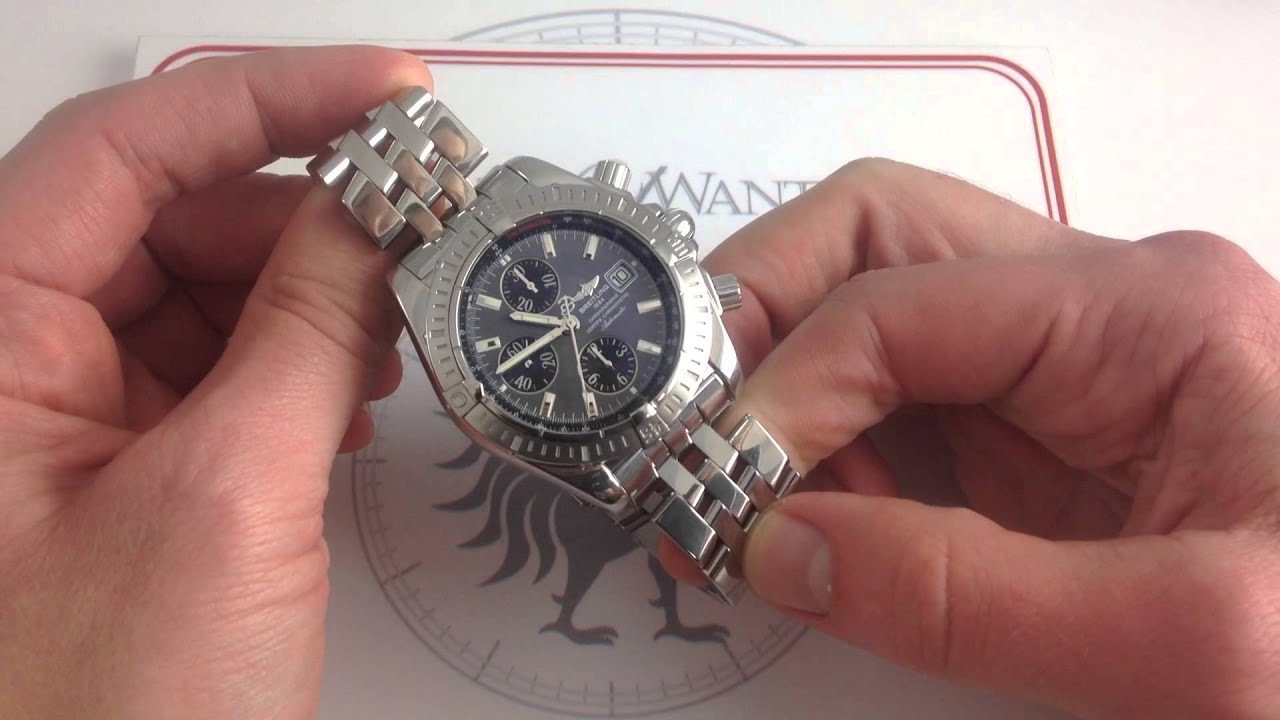 2a2d1cf68 Breitling Chronomat Evolution A13356 Luxury Watch Review - YouTube