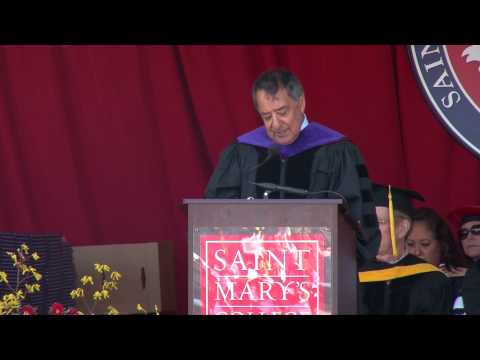 Leon Panetta: Commencement Address 2014 - Saint Mary