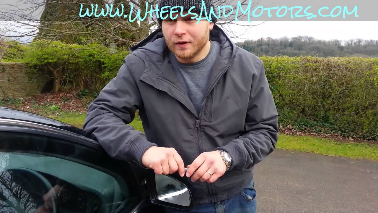 How To Replace Wing Mirror Door Glass Heated For Audi A6 A8 D2 Wiring Diagram C6 4f