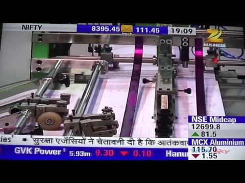 Zee Business Story on Indian Printing Packaging & Allied Industry