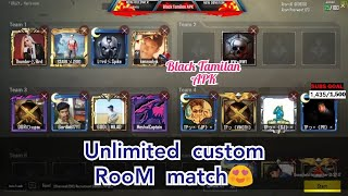 PUBG Mobile Room matches🔴Live Stream |Black Tamilan APK |#pubgmobile #pubg