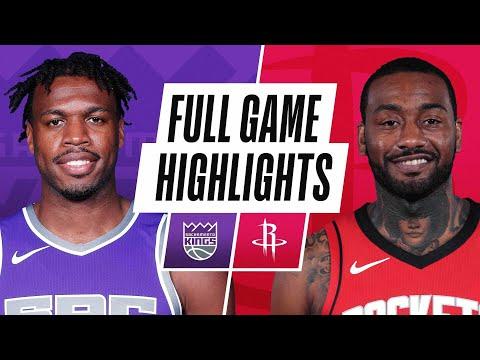 KINGS at ROCKETS | FULL GAME HIGHLIGHTS | January 2, 2021