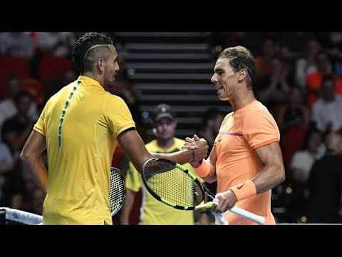 Nick Kyrgios vs Rafael Nadal Fast 4 2017 ᴴᴰ